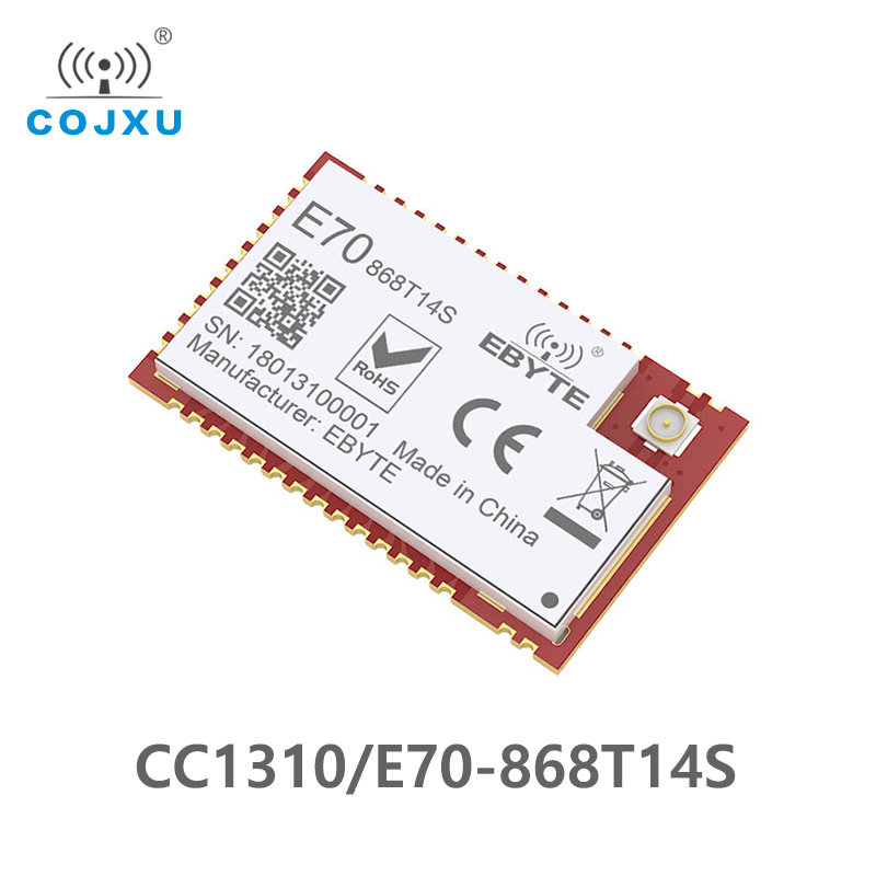 E70-868T14S CC1310 IC 868MHz IOT SMD Rf Wireless Uhf Module Transmitter And Receiver 868 MHz RF Module