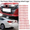 Черный, серебристый, красный, 3D логотип H, автомобильная Передняя головка, капот, эмблема, задний бампер, багажник, знак, значок, Авто Наклейка...