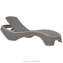 все цены на Patio lounger a weather-resistant Plastic resin rattan-looking lightweight easy to move ,comfortable for any outdoor space онлайн