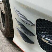 6 accessoires universels de style de voiture becquet de pare-chocs avant pour Kia Rio 3 4 K2 K3 K5 K4 Cerato,Soul,Forte,Sportage R,SORENTO,Mohave