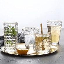 Высококачественный золотой ободок виски стеклянный прозрачный стакан tazas garrafa вино VBOOT vidrio bardak verre copas шампанское стекло свадебные чашки