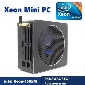 Intel Xeon E-2186M/Xeon E3-1505M 2*DDR3L/DDR4 Mini PC Server Windows 10 Pro UHD Graphics 630 HDMI Mini-DP WiFi Desktop Computer - DISCOUNT ITEM  46% OFF All Category