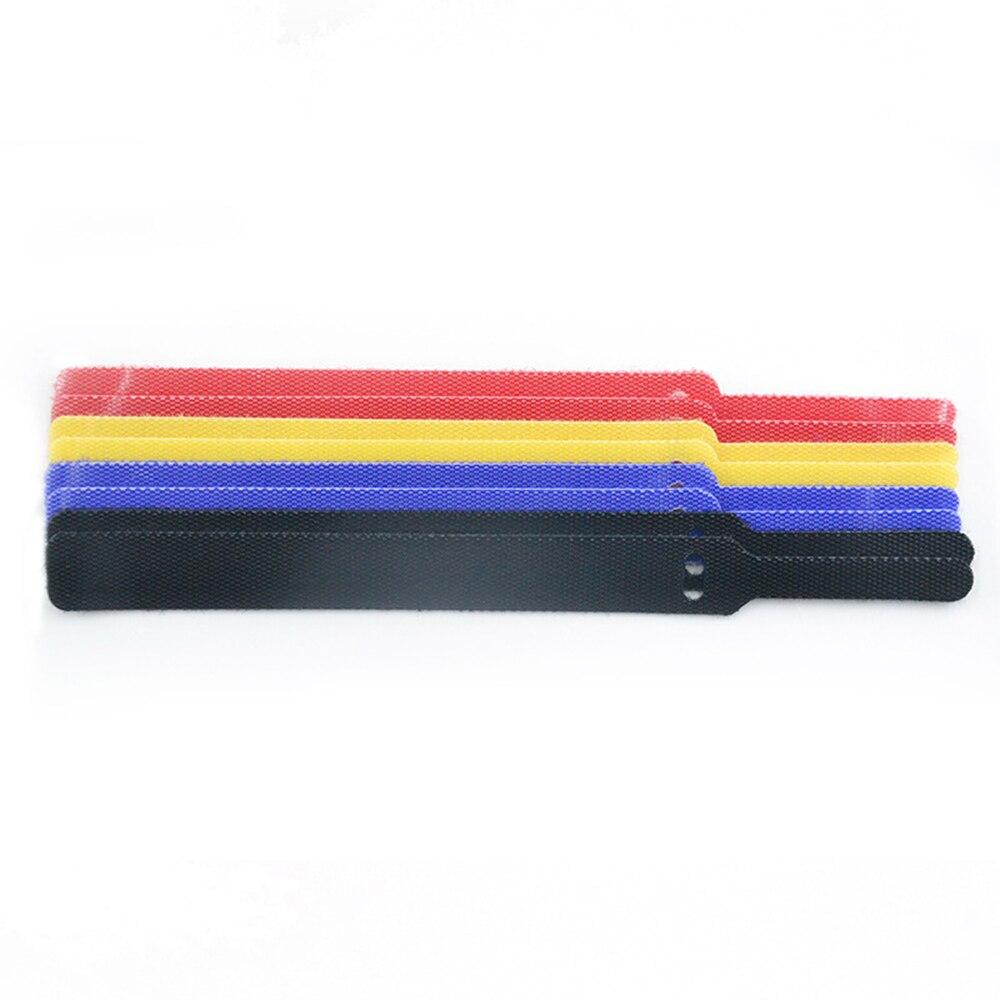 50 шт Многоразовые цветные кабельные стяжки прямого типа нейлоновые