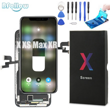 BFOLLOW Original OLED with True Tone Screen Replacement for iPhone X XS Max XR LCD Digitizer Display Assembly Seal