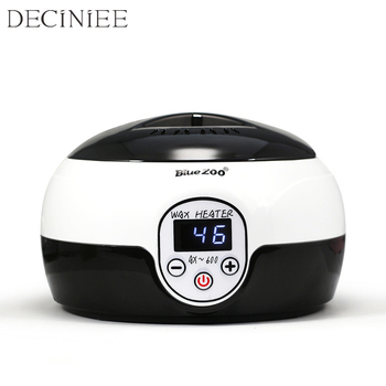 Professional LCD Display Warmer Wax Heater SPA Epilator Feet Paraffin Wax Rechargeable Machine Body Depilatory Hair Removal Tool wax warmer heater mini spa machine paraffin pot hair removal 4pcs kit 100g wax bean professional hand feet body depilatory eu pl