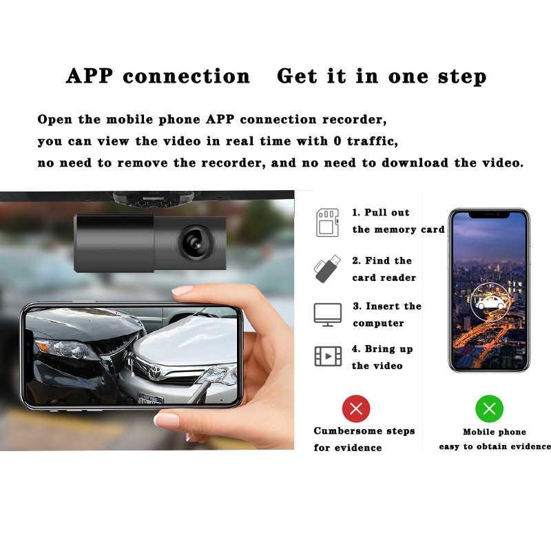 الأصلي aiba a10 سيارة dvr app 1080 وعاء hd للرؤية الليلية داش كاميرا wifi سيارة كاميرا مسجل 170 درجة زاوية واسعة g- الاستشعار داش كام