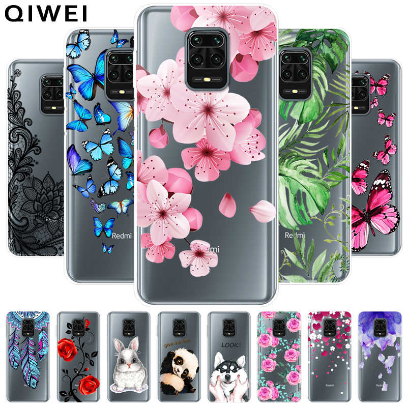 Dành Cho Xiaomi Redmi Note 9S Ốp Lưng Mỏng Trong Suốt Trong Suốt Mềm TPU Silicon Ốp Lưng Cho Redmi Note 9 Pro note9 Ốp Điện Thoại Note9S