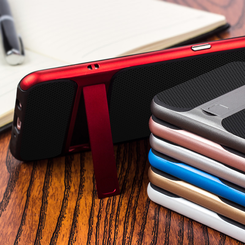 3D Kickstand Phone Back Cover για Samsung J7 Prime Case Cover TPU - Ανταλλακτικά και αξεσουάρ κινητών τηλεφώνων - Φωτογραφία 4