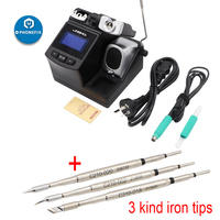 Original JBC CD 2SHE Precision Soldering Station with T210 A Handle Soldering Iron Kit for Phone Motherboard Soldering Repair