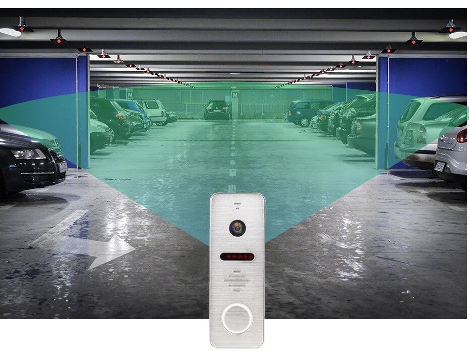 Homefong câmera de vídeo campainha grande angular