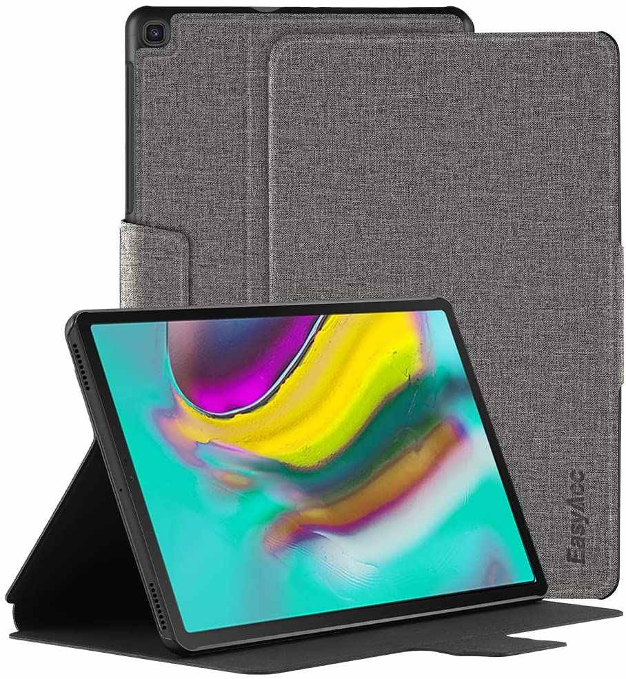 EasyAcc Galaxy Tab S5E Book Cover Case Ultra Slim Buku Desain dengan Stand Fungsi Auto Sleep Wake Fungsi 10.5 inci
