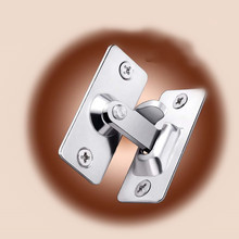 2 pcs Mini 304 Stainless steel 90 degree Right angle buckle/hook lock/bolt,For sliding door,Surface mounting,Hardware Locks 304 stainless steel high quality engineering toilet partitions locks rotary switch with switch tips hardware locks