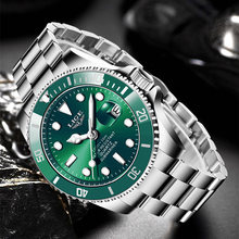 Relogio masculino lige список Роскошные модные мужские часы