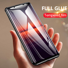 Full glue protective glass For Sony Xperia 5 10 1 II screen protector CHYI full cover film for Xperia XA3 L3 plus tempered glass
