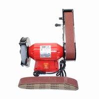 220V Multi function Electric Bench Belt Sander Tool Grinding Machine Abrasive Finishing Machine Knife Sharpener Y