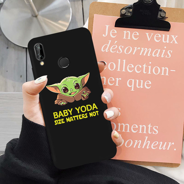 CUTE BABY YODA HUAWEI PHONE CASE (12 VARIAN)