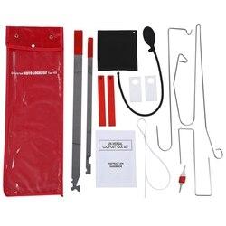 Kit de ferramentas universal para porta de carro, 1 conjunto com chave perdida, bloqueio de emergência, desbloqueio, kit de ferramentas para carro