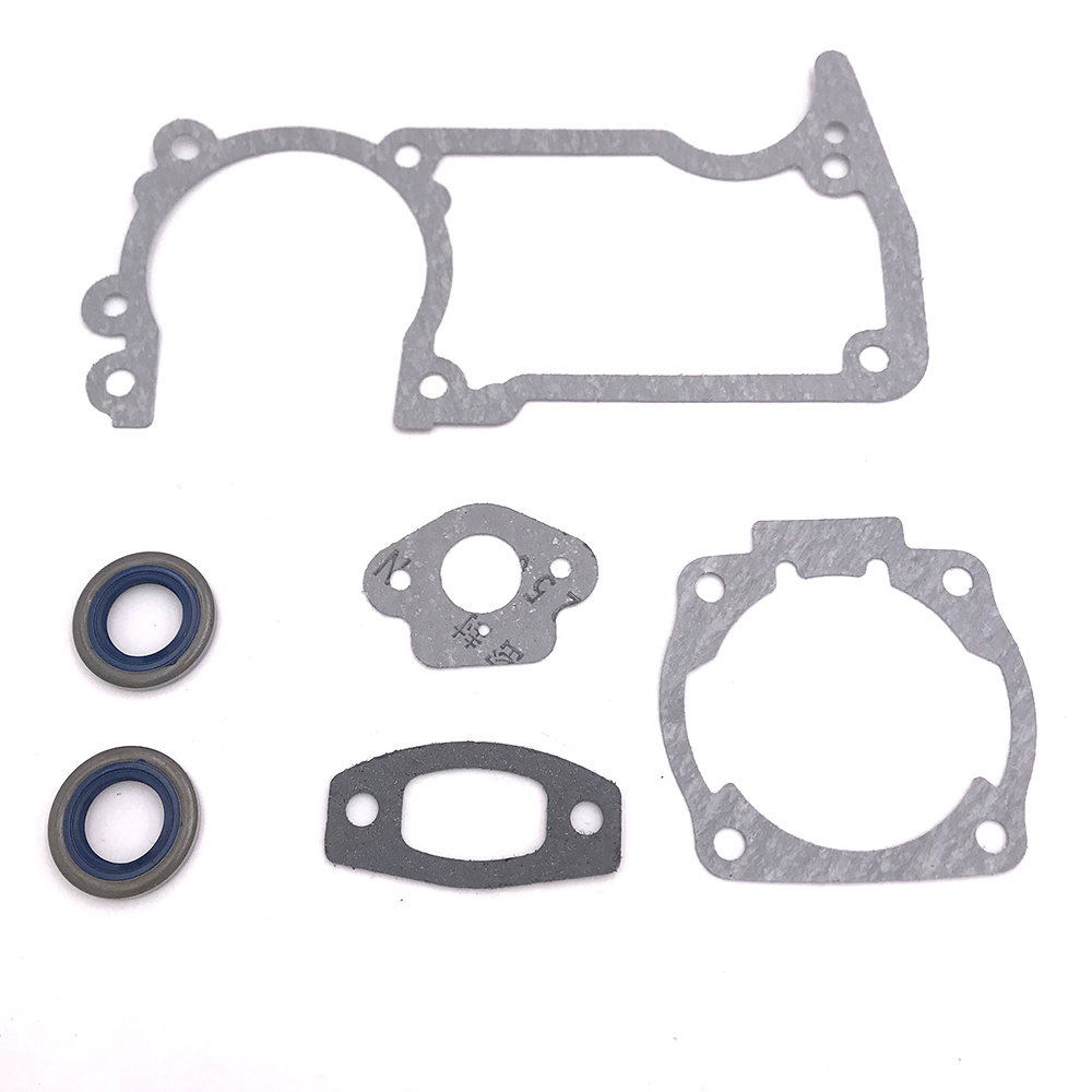 Gasket Oil Seals Set For Husqvarna 51 And 55 Chainsaw Replace 501 76 18 02 Chain Saw Parts Power Equipment Accessories