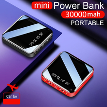 30000mAh Power Bank For IPhone 8 Xiaomi Portable Mini Powerb