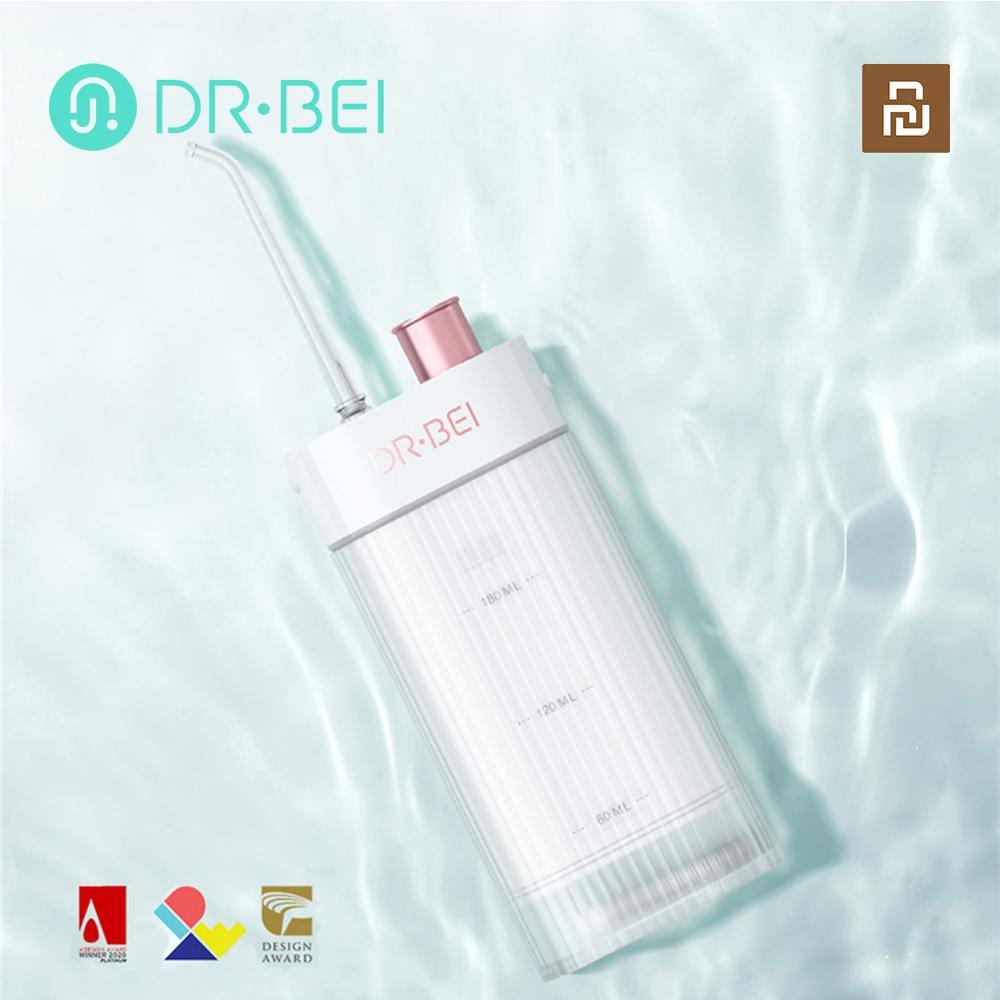 xiaomi youpin irrigador oral dental portatil agua flosser usb rapido recarregavel ipx7 irrigador para dentes dr