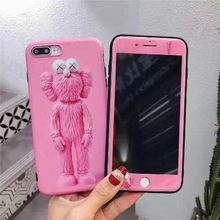 IPhone 66s 7 8 Plus cartoon ultra-thin mobile phone shell iPhone 55s SE rear cover Coque X S Max soft shell goowiiz кванхон iphone 55s