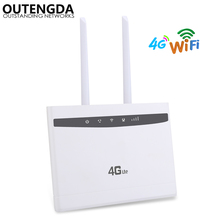 4G WiFi Router 300Mbps Wireless Wi-Fi Mobile CAT4 LTE/3G/4G CPE Router Up to 32 WiFi users with SIM Slot Multi LAN & Dual ANTs 300mbps unlocked 4g lte cpe wireless router support sim card 4pcs antenna with lan port support up to 32 wifi users wps function
