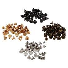 Заклепки из металлического сплава для скрапбукинга, 20 комплектов