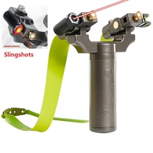 Slingshot Shooting-Game Rubber-Band Rotating Plastic-Steel 360 Polycarbon Outdoor New