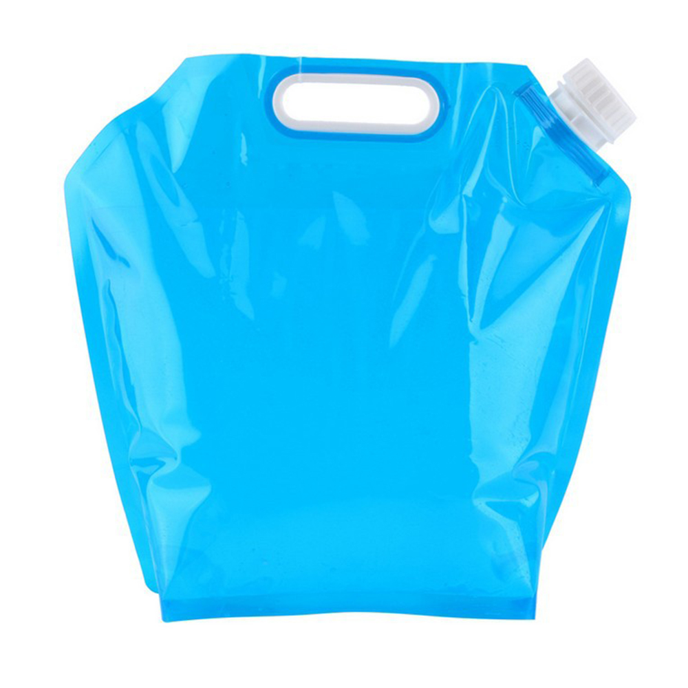 Folding Water Bag Canister PE Tasteless Safety Seal Lightweight Drinking Water Storage Bags For Camping Hiking Picnic Hot Sale
