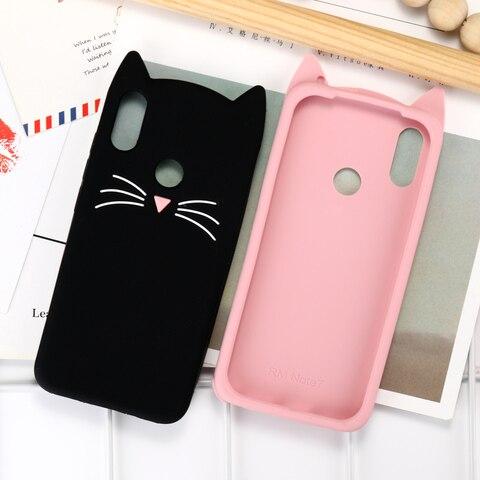 Case For Xiaomi Redmi Note 7 6 5 Pro Cases Redmi 6A 5A 3D Cute Cat Silicone Cover Xiaomi Mi 8 9 SE Lite Pocophone F1 Case Bumper Karachi