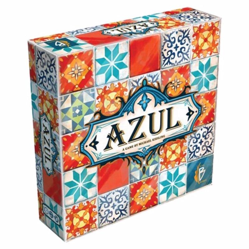 Azul jogo de tabuleiro cor telha mestre versão inglês original telha história cor telha mestre decoração multiplayer presente do feriado