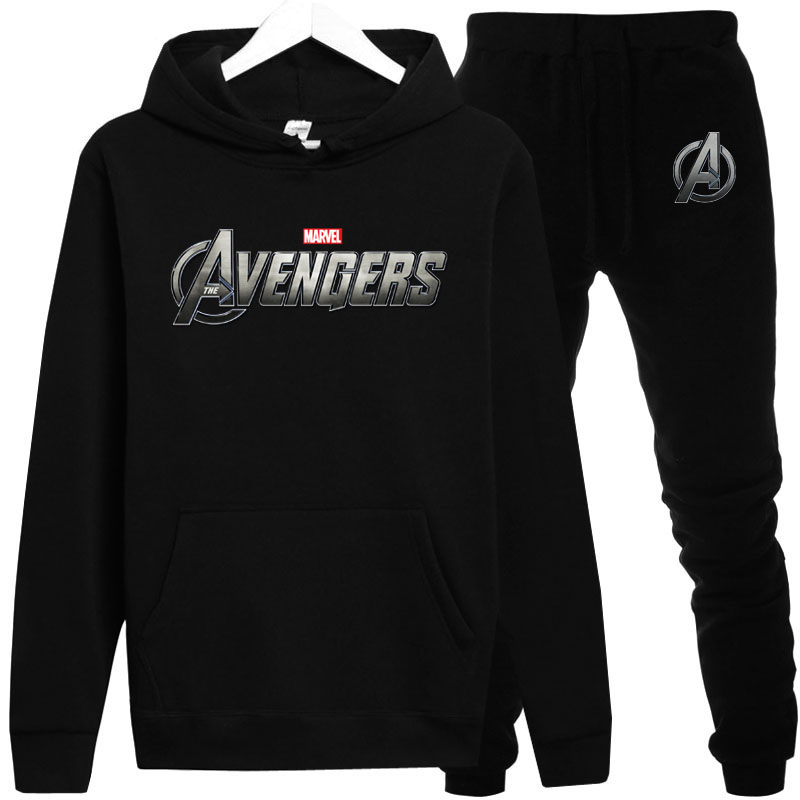 2019 Autumn / Winter New Marvel Series Movies Avengers League 4 Men Hoodie  Men's Tracksuit Sweatpants Streetwear  Hoodies Male