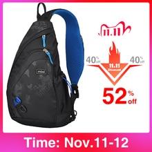 Mixi 2020 Fashion Backpack for Men One Shoulder Chest Bag Male Messenger Boys College School Bag Travel Causal Black 17 19 inch