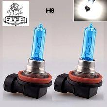2 pçs h9 12v 65w 3800k faróis de halogênio do carro lâmpadas alta qualidade luzes nevoeiro quartzo lâmpadas e hérnia farol luz headlam