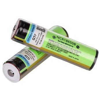3400mah 18650 Original battery 100% capacity 3.7V 18650 PCB battery Original NCR18650B 3400mah li-ion Rechargeable Battery + pcb free shipping brand new 10pcs lot 100% genuine panasonics ncr18650b 3 6v 3400mah li ion rechargeable battery for led lights