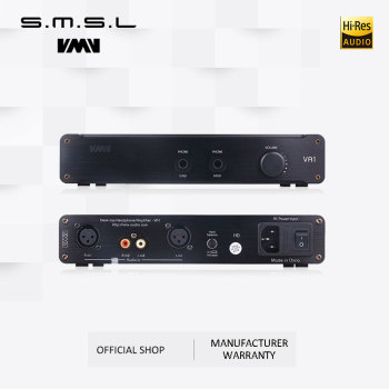 SMSL VA1-HD HI-FI Power Audio Amplifier Desktop Headphone Amplifier 110V/220V Amplifier with Balanced Input For HD650 HD600 1