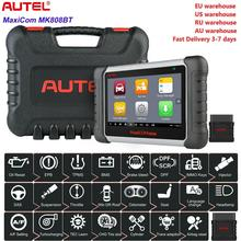 Autel MK808BT OBD2 الماسح الضوئي أداة تشخيص السيارات OBD 2 السيارات رمز القارئ ODB2 مفتاح مبرمج التشخيص أفضل لإطلاق X431