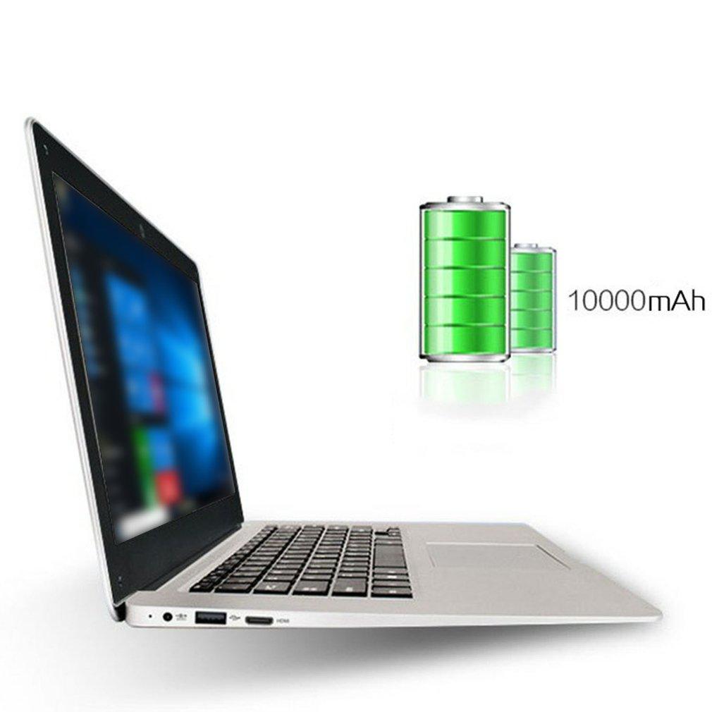 14 Inch Cheap Laptop Notebook Windows 10 Pc Computer 16:9 Ultra-Thin Small Portable Computer 1.3MP Camera 10000mah Battery 4