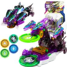 Screechers explosão selvagem velocidade fly deformação carro figuras de ação captura bolacha 360 flips transformação carro brinquedos presente para crianças