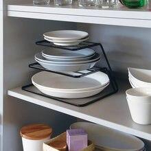 Подставка сушилка для посуды кухонная полка хранения банок специй