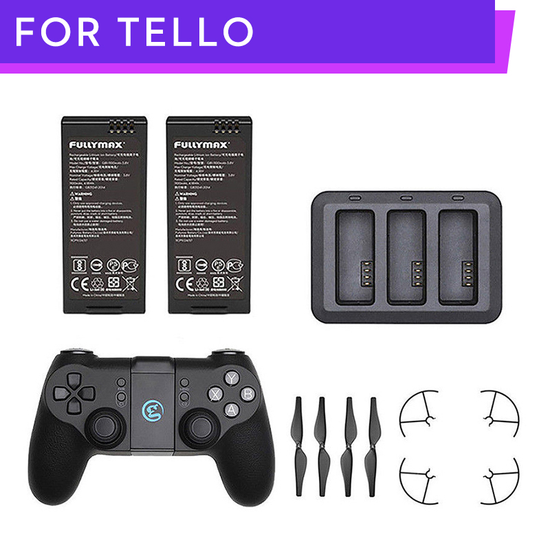 DJI RYZE TELLO Drone Battery Charger Charging Hub Remote Controller Props Guard DJI Parts Accessories