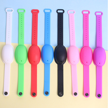 Squeeze Sanitizer Silicone Bracelet For Adult And Children Hand
