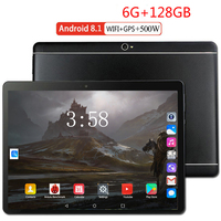 6+128GB 10.1 inch tablet PC 3G 4G LTE Android 8.0 Octa Core Super tablets Ram 6GB Rom128GB WiFi GPS 10.1 tablet IPS Dual SIM GPS|Tablets| |  -