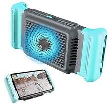 Telefon komórkowy Cooler ręczny uchwyt chłodnicy wsparcie PUBG telefon wentylator chłodzący uchwyt Radiator stojak do gier transmisja na żywo