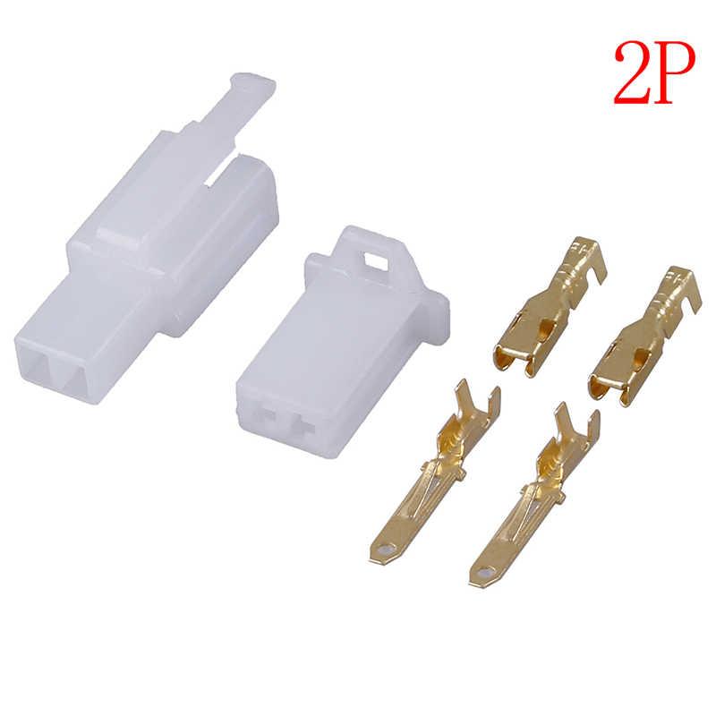 5 Set/lot 2.8Mm 2/3/4/6/9 Pin Otomotif Kawat Listrik Otomatis/Mobil 2.8 Konektor untuk E-Sepeda mobil, Sepeda Motor.