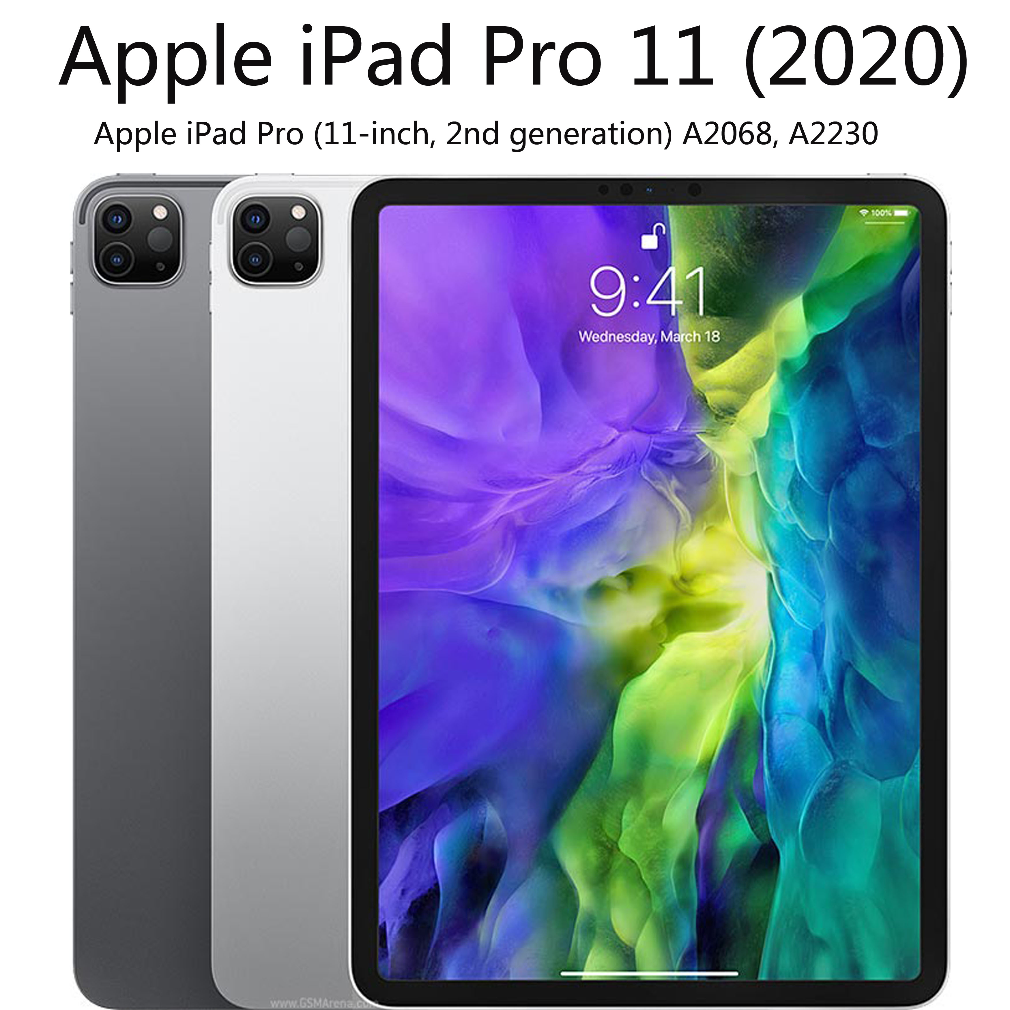 Clear Case for iPad Pro 11 11 inch case Anti fall soft TPU silicone tablet cover