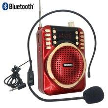 30 Вт с 4800 мАч 18650 батарея мини Bluetooth МегаФон динамик TF USB fm-рекордер функция голосового усилителя микрофон для учителя