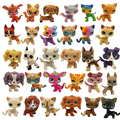 Неисправные старые игрушки для домашних животных, 10/30 шт., щенок, кошка, котенок, фигурки, редкие стоячие коротковоздушные мини-игрушки, фигу...