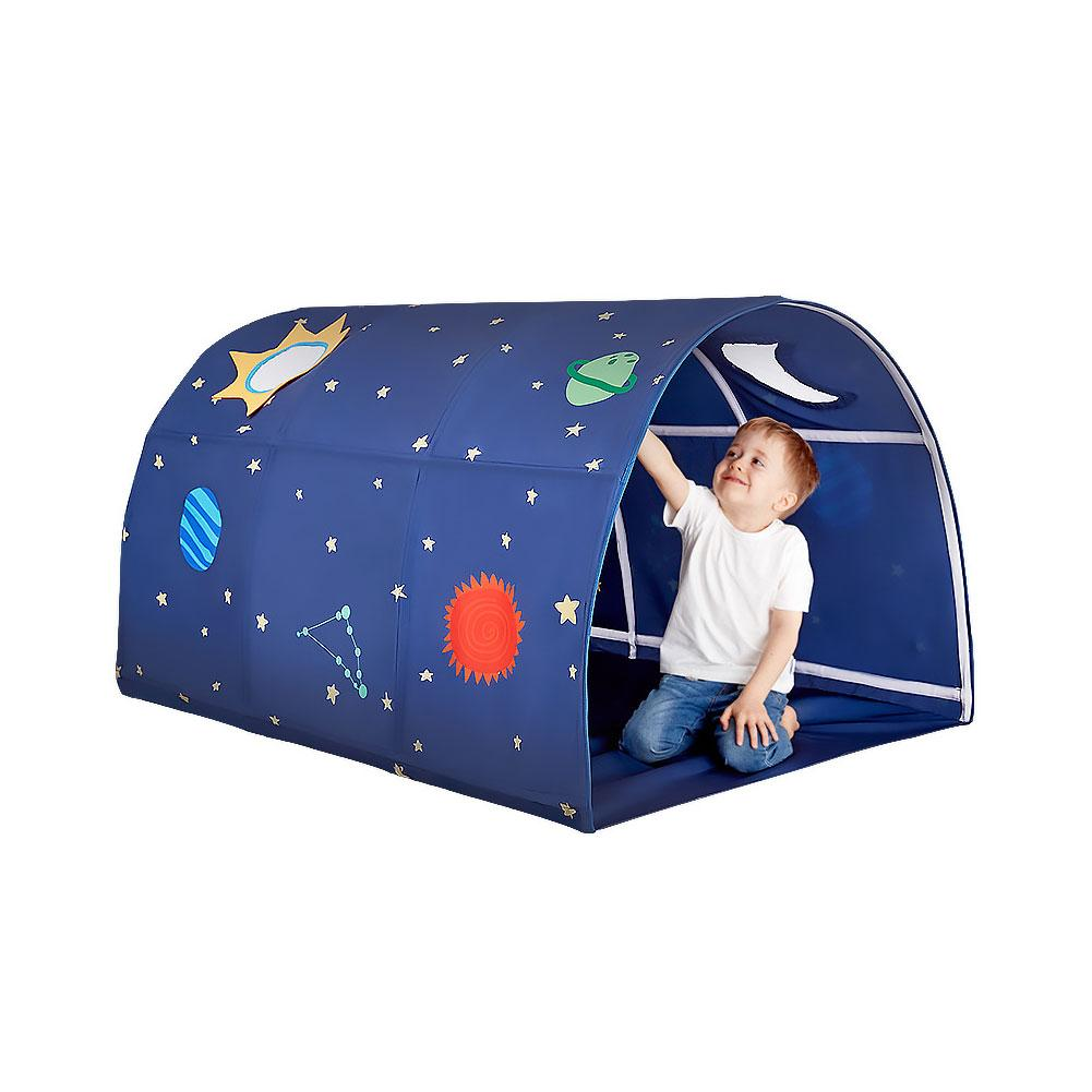 Children Play Tent Tunnel Boys Cartoon