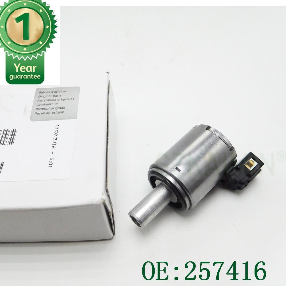 new Gearboxes Lockup Solenoid AL4 DPO257416 for Citroen Berlingo Peugeot 257410 9653760480 for Renault 7701208174 257416 2574-16